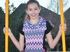 www.From-a-Box.com Cowl Neck Top for a TEEN