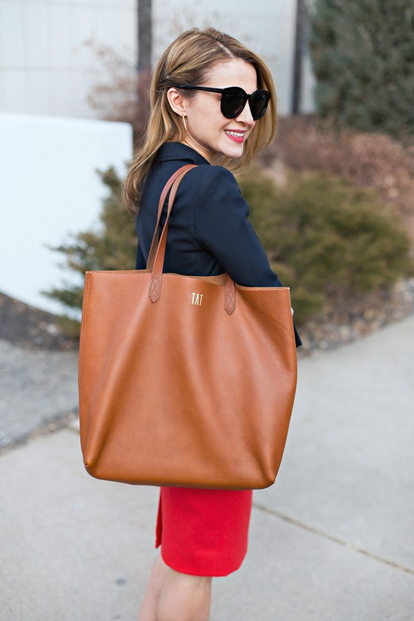 Madewell Transport Tote for Work
