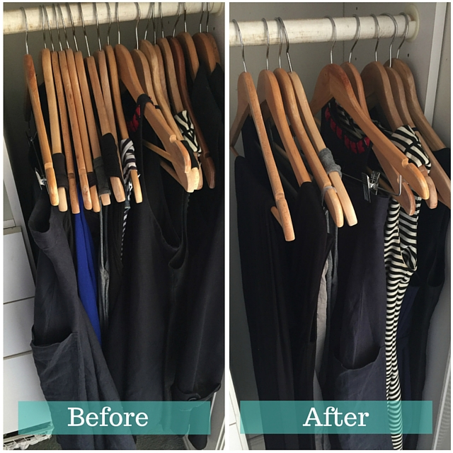 1 Before and after dresses