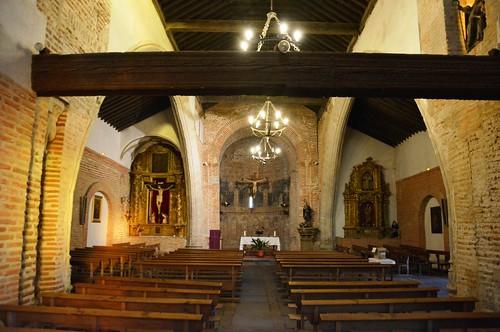 Aldeaseca de la Frontera. Iglesia de la Asunción. Interior