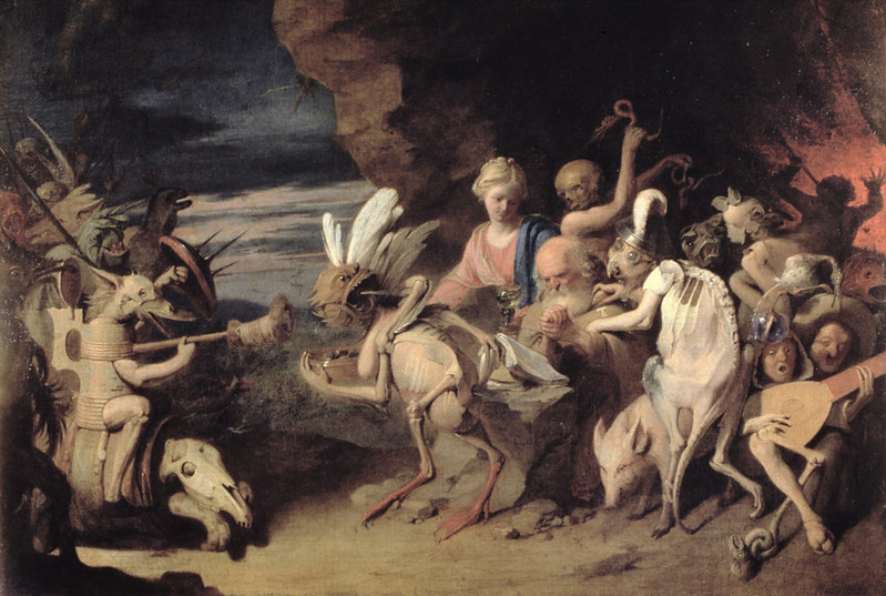 David Ryckaert The Younger - The Temptation of St. Anthony of Egypt, 17th C