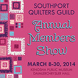 Southport Quilters Guild Annual Members Show, March 8, thru 30, 2014, Daimler Chrysler Hall,