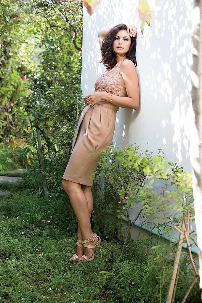 Морена Баккарин — Фотосессия для «Latina» 2014 – 2