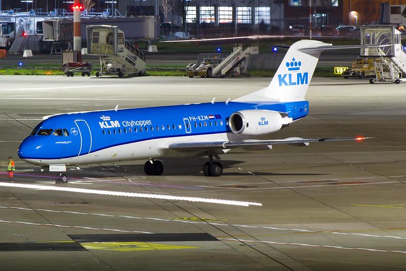 KLM - F70 - PH-KZM (1)