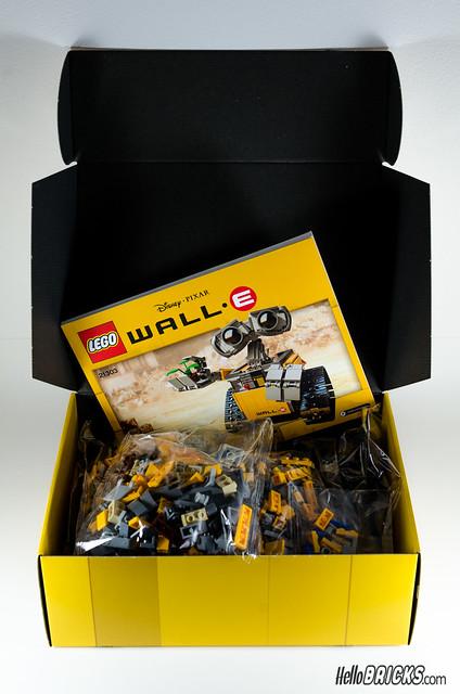 REVIEW LEGO 21303 WALL-E LEGO IDEAS 03