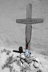 Jack O'Neill's Memorial in Las Trampas