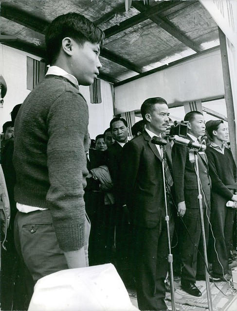 QUANG TRI 1966 - Gen. Nguyen Chanh Thi - Prisoners Released 17Th Parallel, July 20, 1966