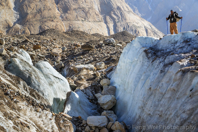Trekking On Baltoro Glacier, Urdukas To Goro II, Central Karakoram National Park, Gilgit-Baltistan, Pakistan