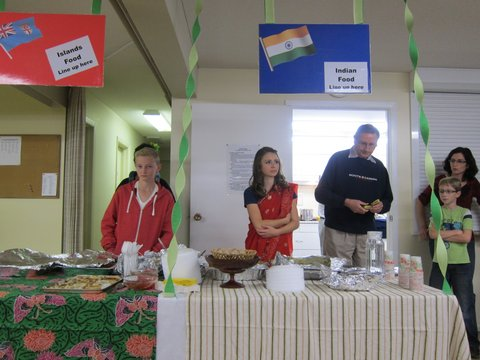 Shuswap Adventist School International Supper 2013