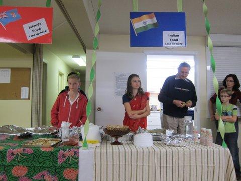 Shuswap Adventist School International Supper 2013
