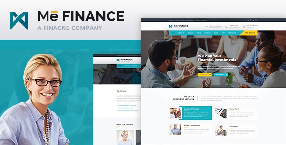 ThemeForest Me Finance v1.0 - Business and Finance HTML Template