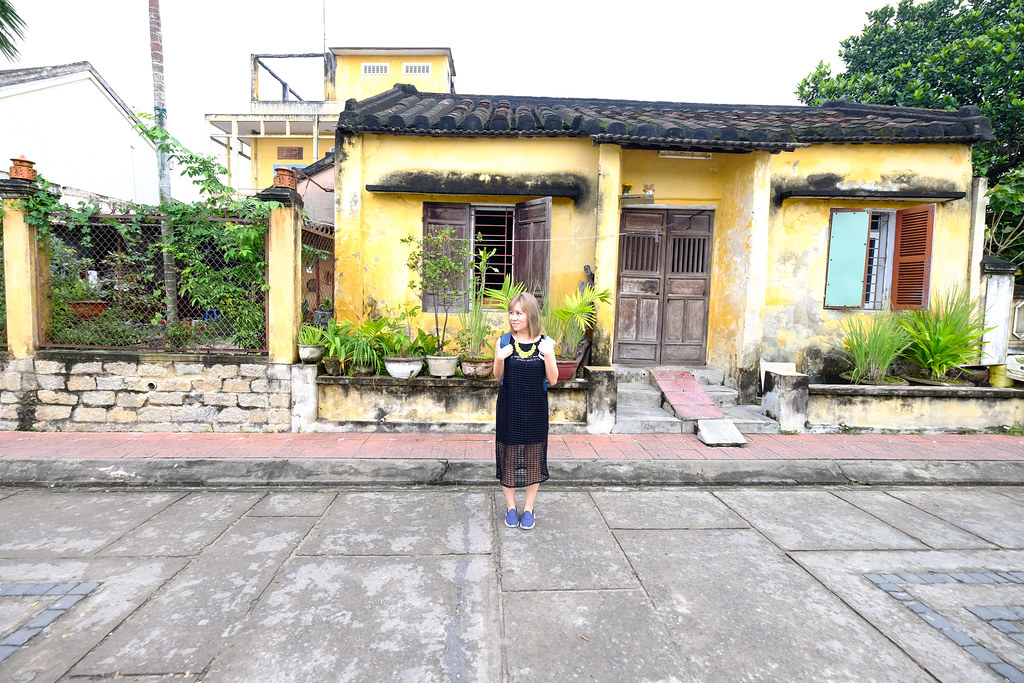 Maureen at Hoi An