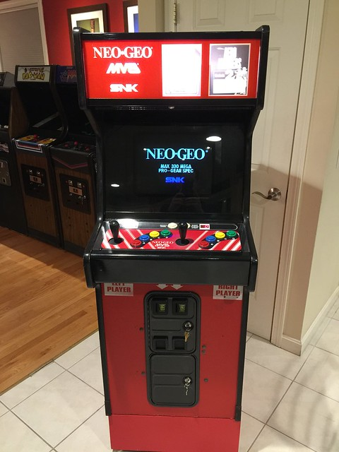 SOLD - GAME Dedicated Red Neo Geo 2 Slot Mini (MVS-2-13) with ...