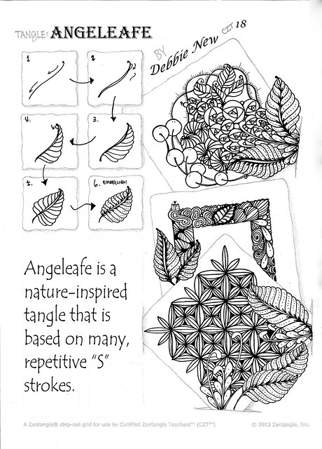 Angeleafe - a new tangle