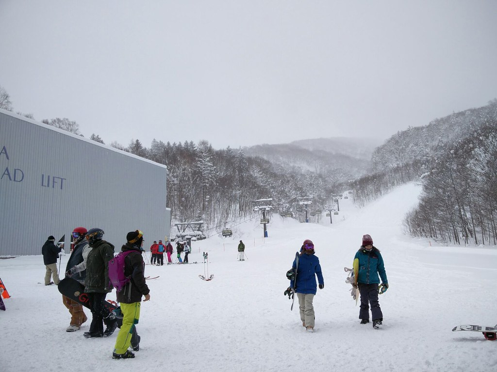 Base of Isola Quad Chairlift