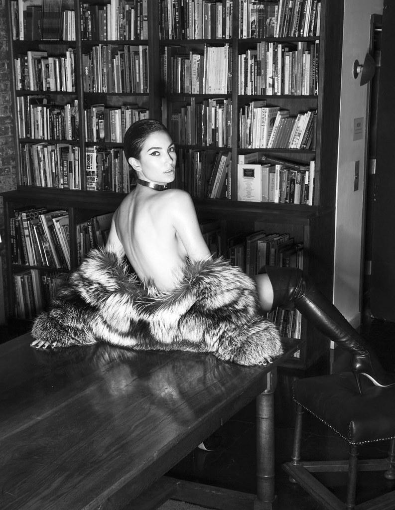 Лили Олдридж — Фотосессия для «Lui» 2016 – 4