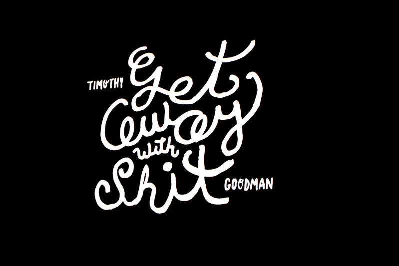 Get Away with Shit by Timothy Goodman at Graphika Manila 2016 Photo by Sundae Scoops