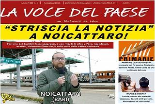 Noicattaro. Prima pagina n.9-2016 front