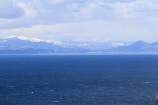 北海道 吉岡を遠くに