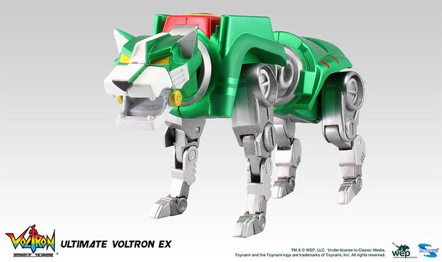 TOYNAMI – 五獅合體《聖戰士 Voltron》「大尺寸」旗艦版 完全變型登場!