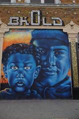 48th St. Mural - by Smile S. LA.