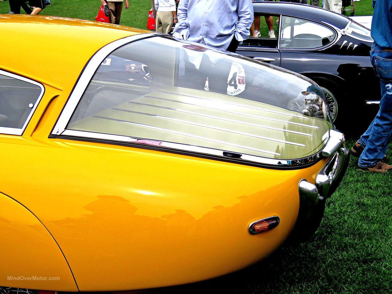 1952 Pegaso Z-102 Cupula Coupe Amelia Island 14