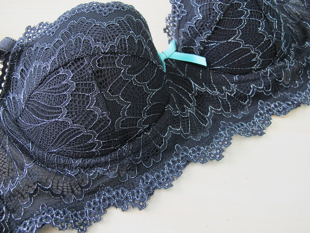 Black Lace Boylston bra