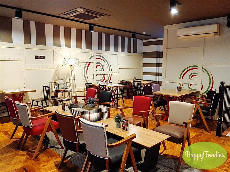 Loft dining area