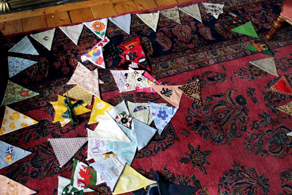 Bunting Layout - Misericordia