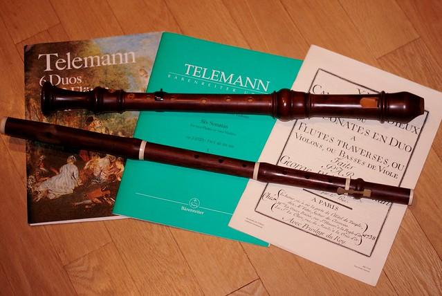 Telemann Duets