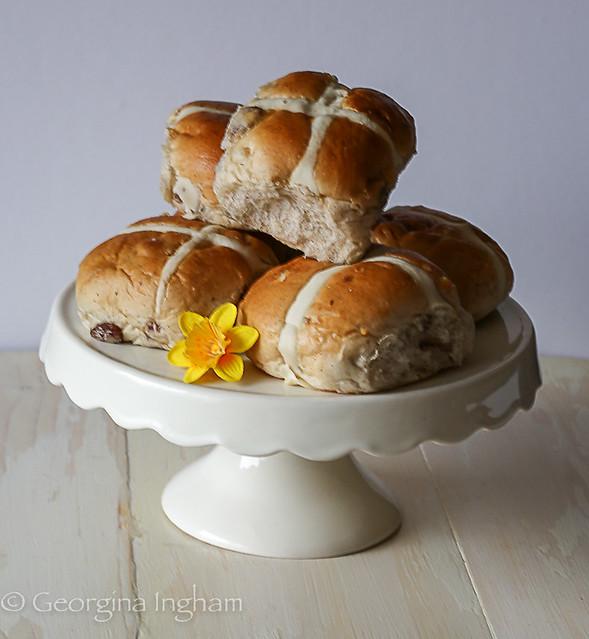 Georgina Ingham | Culinary Travels Photograph -Traditional Hot Cross Buns BBC Good Food Recipe