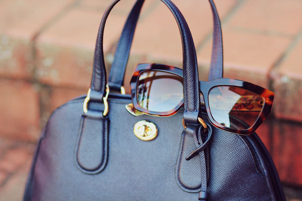 Coach Handbag Miu Miu Sunglasses