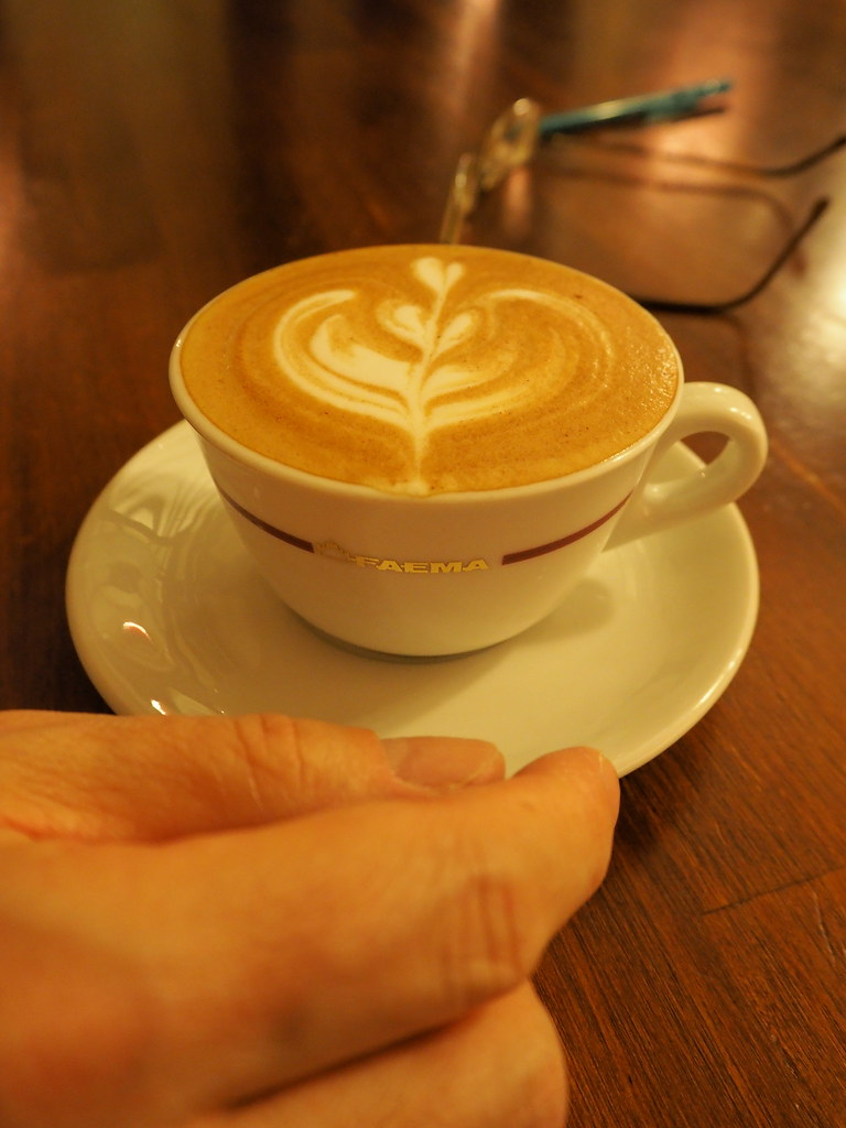 正興咖啡館カプチーノ1