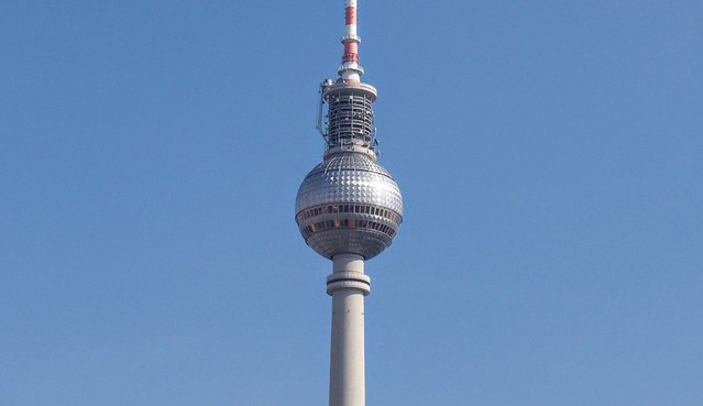 TV tower in the sun