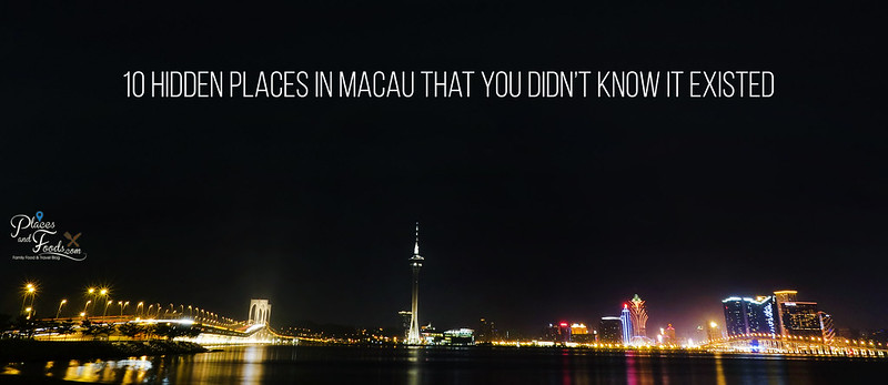 10 Hidden Places in Macau poster
