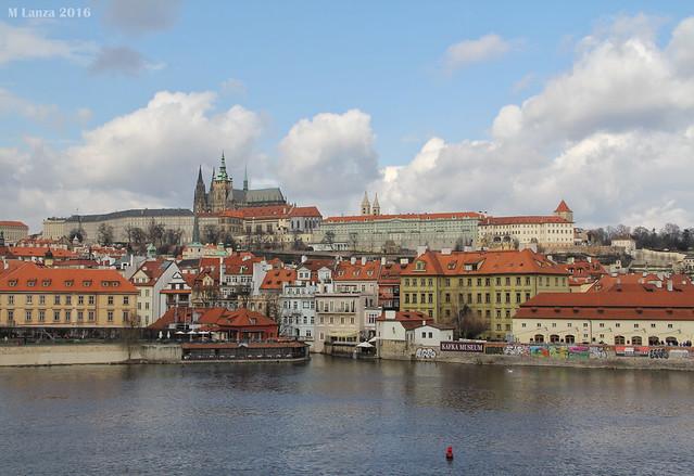 Prague Castle in the Morning