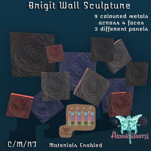 Brigit Wall Sculpture