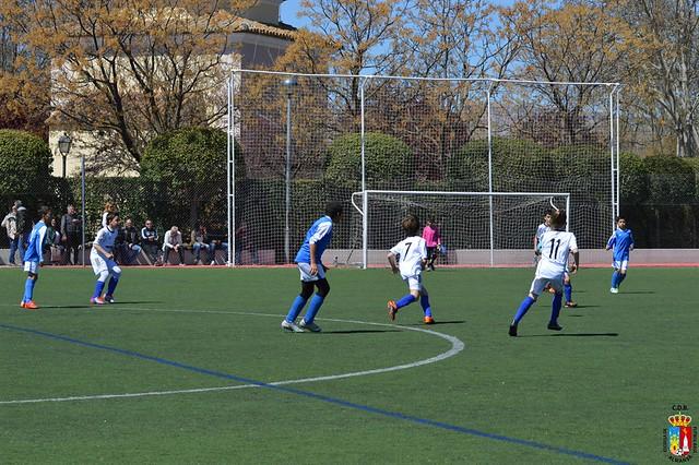 Partido E.F.B. Alevin B contra Caudete B