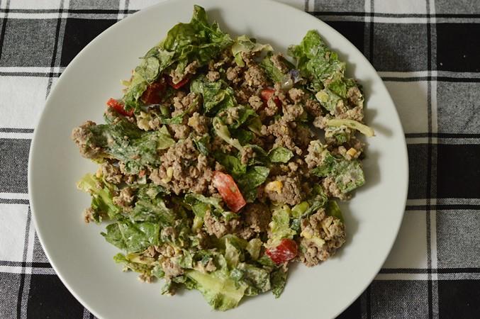 5 Shift Taco Salad