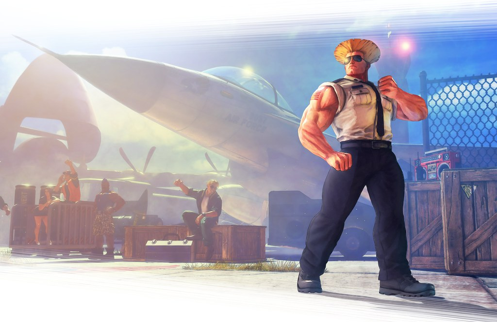 Street Fighter V Character Art - Guile
