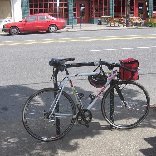 The kit bike has spoiled me