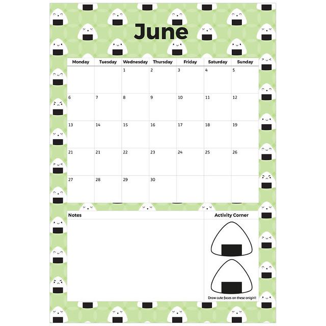 June Printable Planner