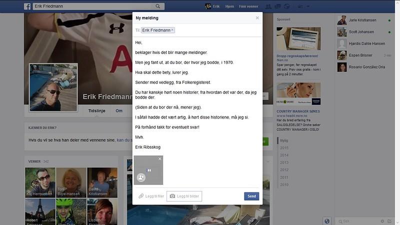erik friedmann facebook melding