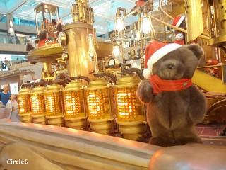 中環 置地廣場 central hongkong 熊 2015 CIRCLEG 聖誕裝飾 (4)