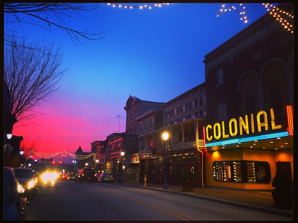 The Colonial Theatre Phoenixville PA