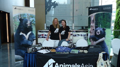 Senior Vet Nurse Wendy Leadbeater at Hong Kong Vietnam conference in 2013