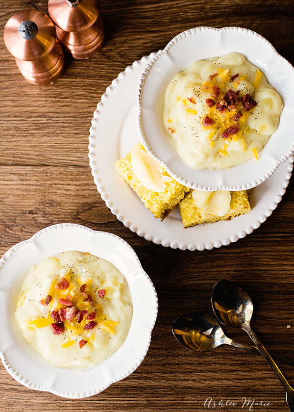 this clam chowder is a family favorite, filling and full of flavor, top with bacon and cheese for even more flavor