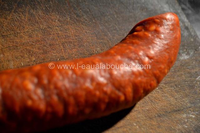 Baguette Croustillante au Fromage et Chorizo © Ana Luthi Tous droits réservés 002