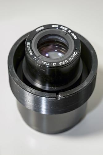 Canon XI 100mm F:1.5