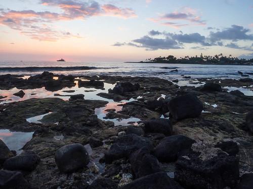 ocean travel sunset sea vacation usa sun tree tourism nature beautiful silhouette landscape island hawaii evening bay coast big twilight scenery pacific dusk scenic peaceful palm exotic hawaiian tropical kona kailua kailuakona